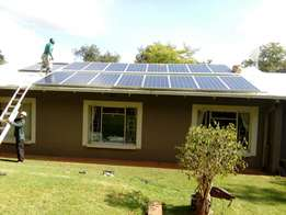 Electrician and solar installation