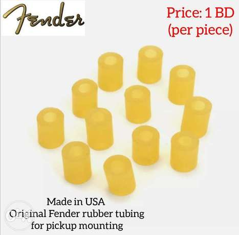 Original Fender USA rubber tubing for pickup mounting available.