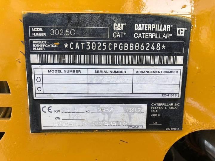 Caterpillar 302.5 - 2012 - image 9