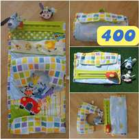 Baby tummy time mat