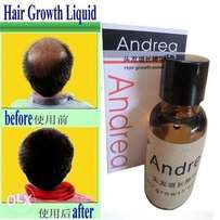 Andrea Hair Growth anti Hair Loss Liquid 20ml dense hair growth