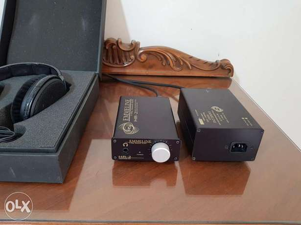 Proffessional headphone amplifier Emmeline HR-2