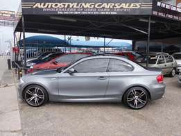 Autostyling Car Sales-East London-2012 Bmw 125i Coupe like new,m/plan