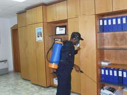 Cleaning services,fumigation and pest control.