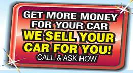 Let us sell your vehicle hassle free!