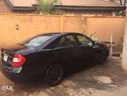 Toyota Camry 04 Black for Quick Sale