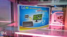 Brand DVB-T2 digital Tv combo box decoder receiver free to air