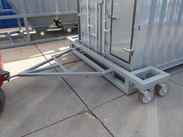 AGM container trolley roll trailer