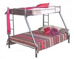 Steel Tri-Bunk Bed