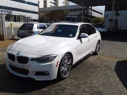 2015 bmw 320d f30 automatic sunroof white colour