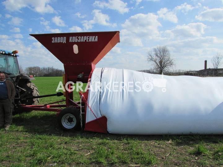 KOBZARENKO fólia töltő, ürítő grain cleaner - 2018