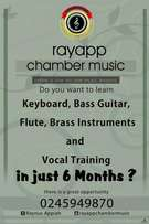 Music Tuition( Music Theory, Learning of Instruments)