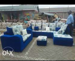 Beautiful L shaped and 2 occupant sofas at reduced amount