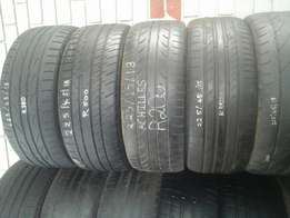 18 inch tyres 225/45/18, 245/45/18, 245/35/18