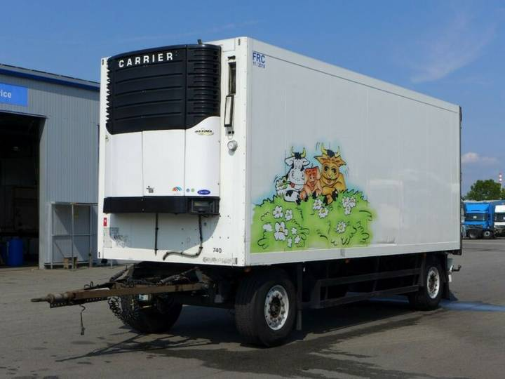 Schmitz Cargobull KO 18*Carrier Maxima 1200*Rohrbahnen*TÜV*SAF* - 2004