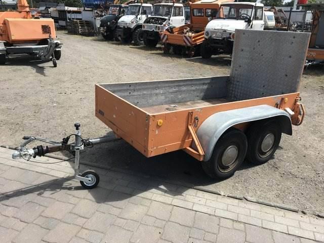 Böckmann 1200 Kg Anhänger Mit Rampe - Quad - Atv - 1980