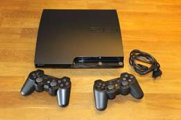 Playstation 3 with 10games and 2controllers and all other accessories