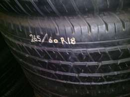 265/60/R18 on special for sale in a good condition we also fit for fre