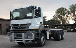 2012 Mercedes-Benz AXOR 3335/45 Chassis Cab