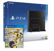 Brand New PS4 console and Fifa 17 game.