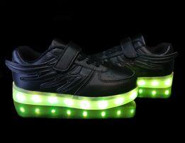 fad6e3700 Светящиеся кроссовки Black