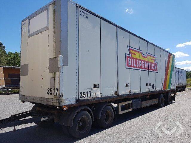 Kilafors S SVBBK-123 4-axlar Box Trailer (side doors) - 96 - 2019