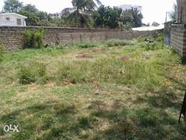 50X100ft Plot Next to Solomon's Gate Nyali