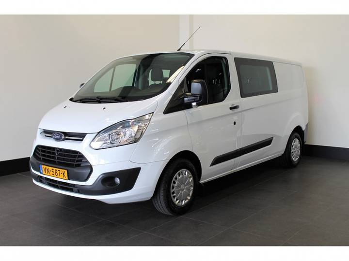 Ford Transit Custom 290 2.2 TDCI L2H1 - Dubbele Cabine - Airco - - 2015