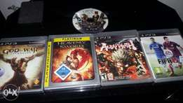 Ps3 CDs for sale or exchange