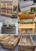 Rustic Decor, Tables, Walls, Garden boxes and beds