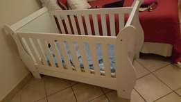 Baby Cot with Matress and drawers