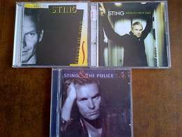 3 Sting cds excellent condition