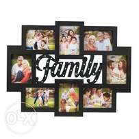 Melannco family frame with 26 Led lights