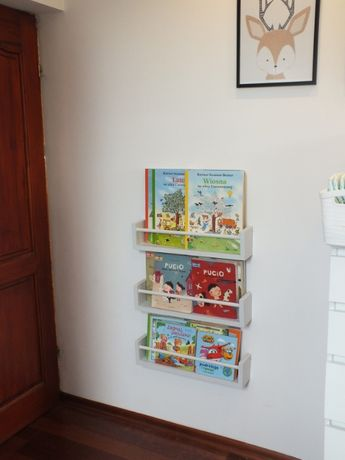 Zestaw Półek Na Książki Dla Dziecka 3szt Styl