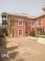 Service 5bedroom duplex with swimming pool to let at Asokoro extension