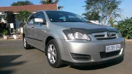 Toyota runx 140 rt, in excellent condition