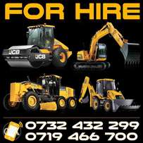 Backhoe, Tripar and excavator for hire