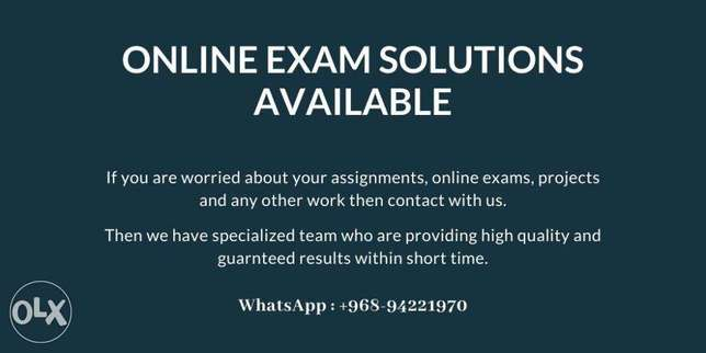 Online Exam and Assignment Solutions