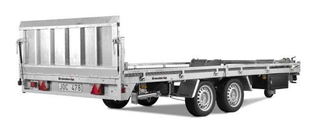 Brenderup 6520 Alu, 65203500, Hochlader kippbar 3,5 t. 5200x2050x350mm