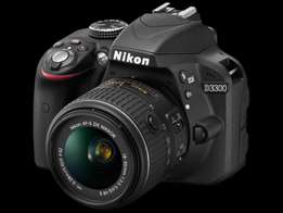Nikon D3300 24.2 MP CMOS Digital SLR Camera with Auto Focus