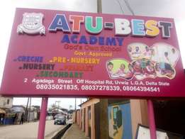 Plastic Sign board (Aluco board)