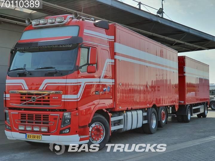 Volvo FH16 6X2 VEB+ Liftachse Hydraulik Standklima Euro 5 - 2004