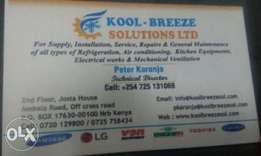 Refrigeration and Air con experts