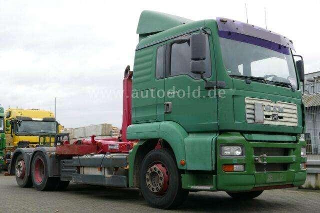 MAN Tg 410 A 6x2 Getriebe Defekt Meiller Abroller - 2001