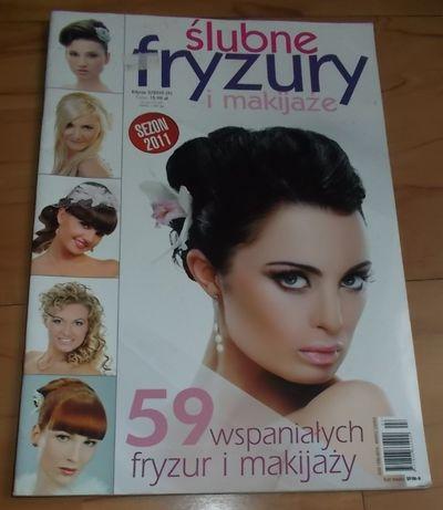 ślubne Fryzury I Makijaże Nr 32010 Czasopismo Mielec Olxpl