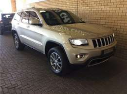 2014 Jeep Grand Cherokee 3.0L V6 CRD LTD for sale in Gauteng