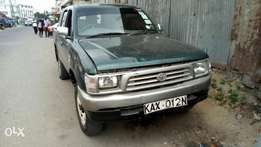 Clean Toyota 7L engine well moving god machine
