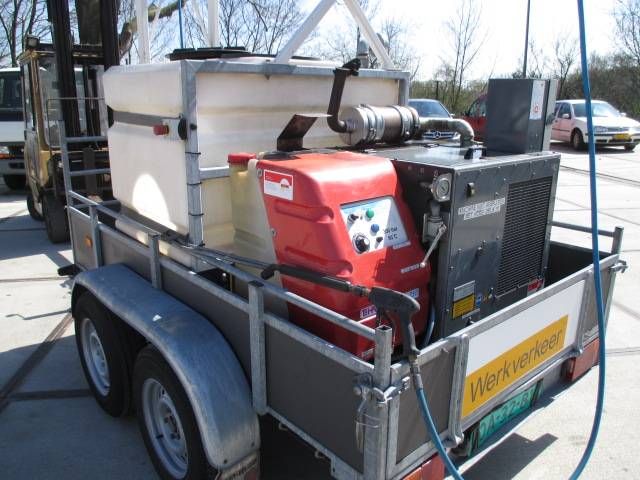 Hapert K3000 INCL ROM HD UNIT, Stoomcleaner Diesel - 2007