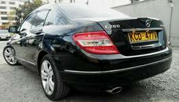 2008 Mercedes_Benz C200 komp KCD Auto Petrol with sunroof