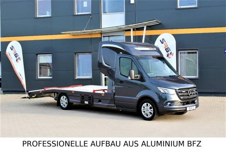 Mercedes-Benz 319 V6 LUFTFEDERUNG AB WERK Schlafkabine BFZ ® - 2019